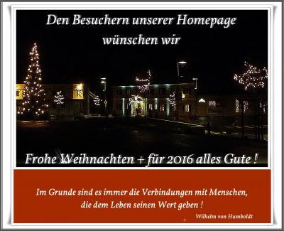 Foto zur Meldung: Weihnachtsgrüsse an HP Besucher