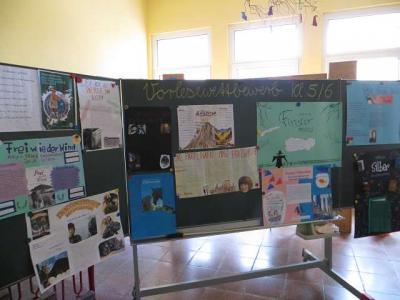 Foto zu Meldung: Vorlesewettbewerb in der Grundschule Nennhausen