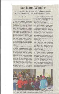 Foto zu Meldung: Bericht in der Schwäbischen Zeitung vom 11.12.2015