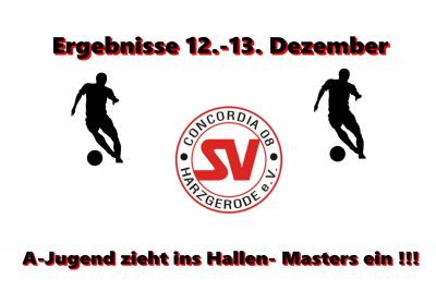 Foto zu Meldung: Ergebnisse 12-13. Dezember, A-Jugend schafft Sprung ins Hallenmasters !