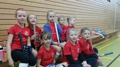 Foto zur Meldung: Heimspieltag der Mädchen D