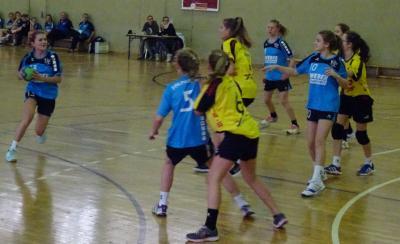 Foto zur Meldung: C-Jugend des HSV04 startet erfolgreich in die Rückrunde