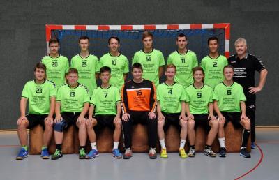 Foto zur Meldung: Oberliga HH/SH mJA TSV Sieverstedt-HSG Weddingstedt/He./De.  32 : 25