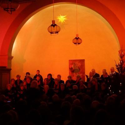 Foto zu Meldung: Großer Erfolg beim weihnachtlichen Benefizkonzert