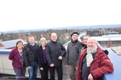 Foto zur Meldung: Photovoltaikanlage Ratsgymnasium Stadthagen