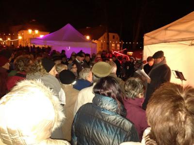 Foto zu Meldung: »Oranienburg zeigt Herz« – Ansprache des Bürgermeisters