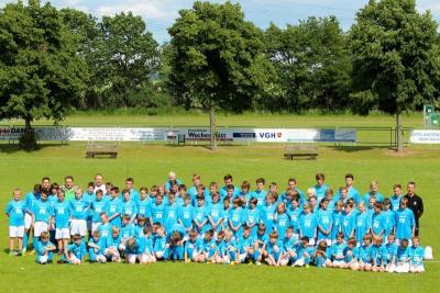 Foto zur Meldung: Das Fußballcamp 2015 der JSG Lindhorst / Sachsenhagen / Lüdersfeld