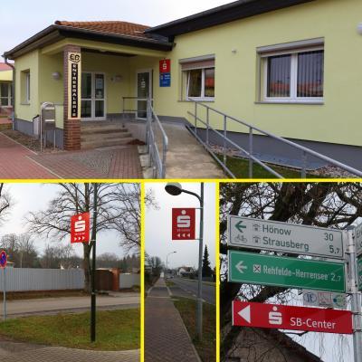 Foto zu Meldung: SB-Center der Sparkasse in Rehfelde feierlich eröffnet