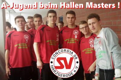 Foto zu Meldung: 6. Platz beim A-Jugend Hallenmaster in Schwanebeck