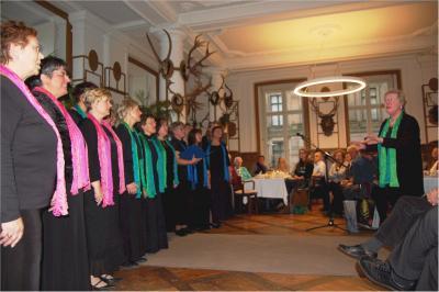 Foto zur Meldung: Schlussakkord für eine großartige Chorleiterin