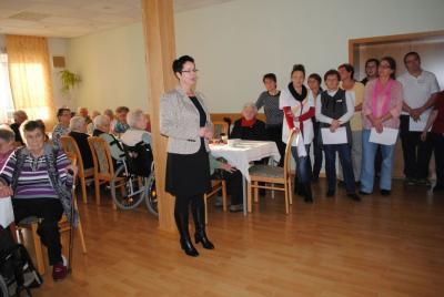 Foto zur Meldung: Patientenweihnachtsfeier des AWO Ambulanten Pflegedienstes in Perleberg