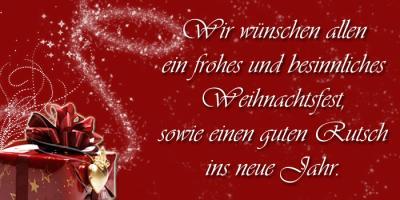 Foto zur Meldung: Der EFV wünscht schöne Weihnachten und einen guten Rutsch
