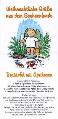 Vorschaubild zur Meldung: Weihnachtliche Grüße aus dem Sachsenlande