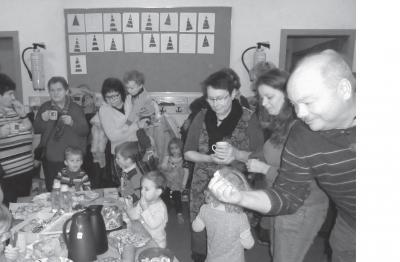 Foto zur Meldung: Heilige St. Nikolaus im Kindergarten Wirbelwind