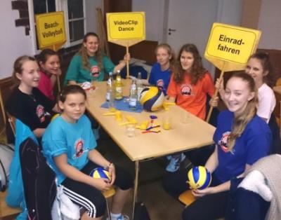Foto zur Meldung: Ehrung für Orga-Team vom SportCamp Schleswig