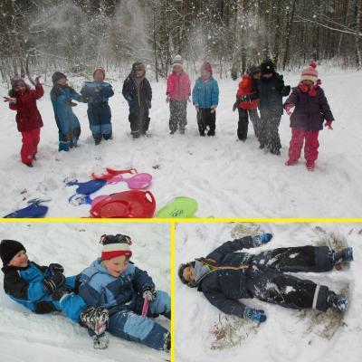 Foto zu Meldung: Juchhe, juchhe, so viel Schnee