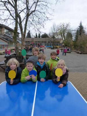 Foto zur Meldung: Grundschule Groß Twülpstedt - Förderverein spendiert Tischtennisplatte