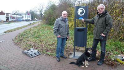 Foto zu Meldung: Hundetoiletten für sauberere Plätze und Wege