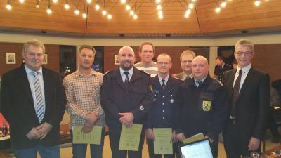 Foto zur Meldung: Ernennungen und Ehrungen bei den Feuerwehren