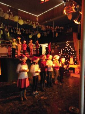 Foto zur Meldung: Adventssingen in der GSA: Ein fröhliches und besinnliches Miteinander