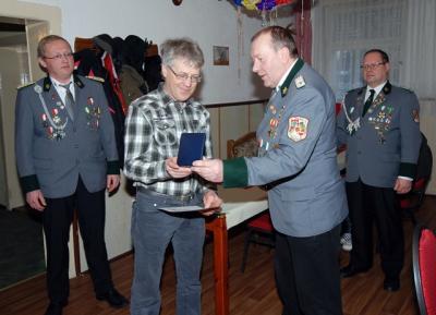 Foto zur Meldung: Neujahrsschießen bei den Rückersdorfer Schützen