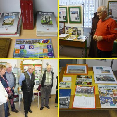 Foto zur Meldung: Heimatstube eröffnete Ausstellungssaison