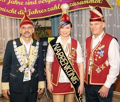 Foto zur Meldung: Groß Laasch - Karnevalisten geben Gas für Höhepunkte der 35. Session
