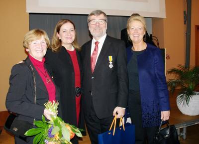 Foto zu Meldung: Bürgermeister Laesicke ist jetzt Ritter im Orden Oranien-Nassau
