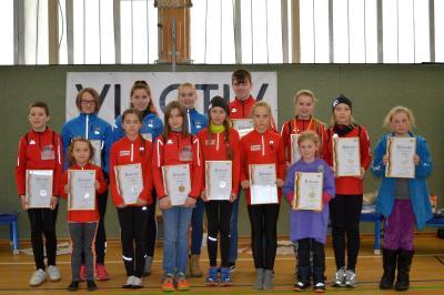 Foto zur Meldung: Laager Laufkinder mit IGL-Medaille geehrt