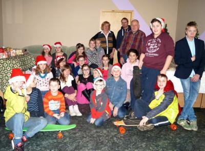 Foto zu Meldung: Amtsweihnachtsfeier im Jugendclub