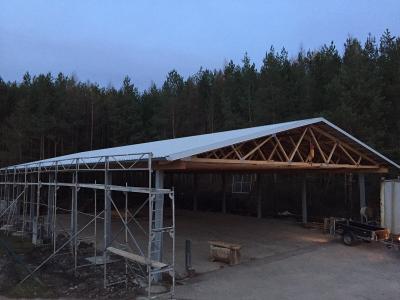 Foto zur Meldung: Neue Maschinenhalle