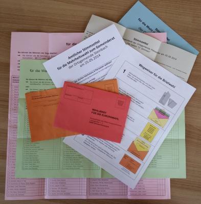 Foto zur Meldung: Briefwahl zur Landtagswahl 2016