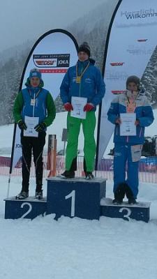 Foto zur Meldung: Till gewinnt Langlauf-Silber im Deutscher Schülercup