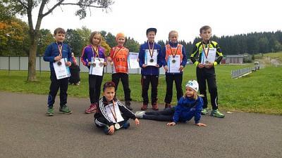 Foto zur Meldung: 14 Medaillen zum Ranglistenwettkampf in Schmiedefeld