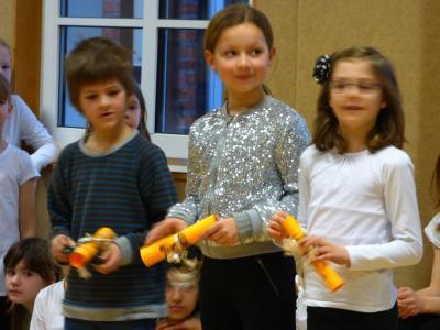Foto zur Meldung: Kinderversammlung am letzten Schultag