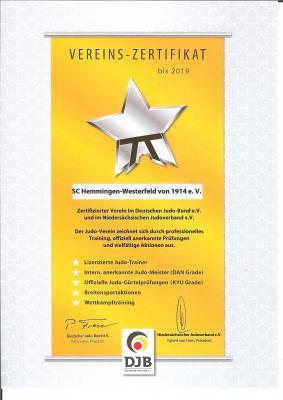 Foto zur Meldung: Zertifiziert bis 2019