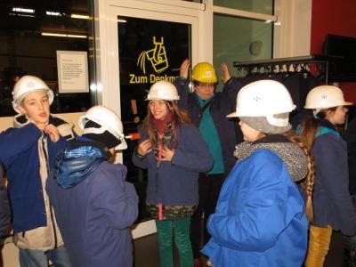 Foto zu Meldung: Besuch des Industriemuseums in Brandenburg der Klasse 5a und 5b
