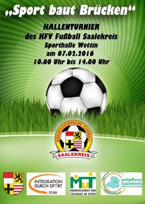 Foto zur Meldung: 1.Inklusionscup des KFV Fußball Saalekreis