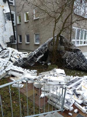 Foto zur Meldung: Das kaputte Dach
