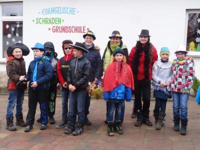 Foto zu Meldung: Zampern der Evangelischen Schraden-Grundschule