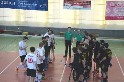 Foto zur Meldung: PSU Hockey-Herren erkämpfen sich wichtigen Punkt gegen Z88