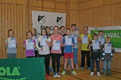 Foto zur Meldung: Calauer Minimeisterschaften im Tischtennis