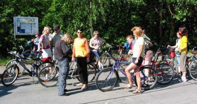 Foto zur Meldung: Himmelfahrttour mit dem Fahrrad