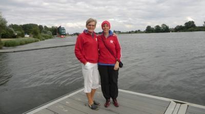 Foto zur Meldung: Erfolgreiche TSV Schwimmer Christiane Sievers, Thomas Grambauer und Ingeborg Schmidt