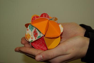 Klasse 6B: Les boules de Noël