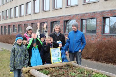 Foto zu Meldung: Calauer Hort gewinnt Umweltpreis für Technologie und Nachhaltigkeit 2015