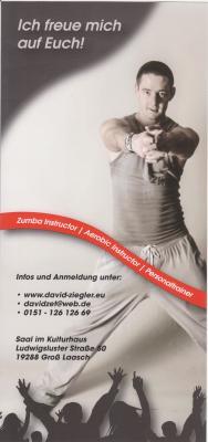 Foto zur Meldung: Groß Laasch - Zumba im Kulturhaus