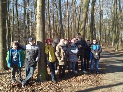 Foto zur Meldung: Wir sind eine Aktion Wald! Schule