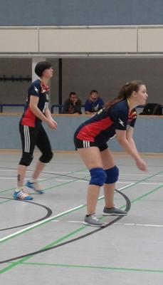 Foto zur Meldung: Volleyball-Damen des SC Laage mischen in der Liga gut mit!