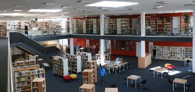 Foto zu Meldung: Stadtbibliothek: Positive Bilanz für 2015